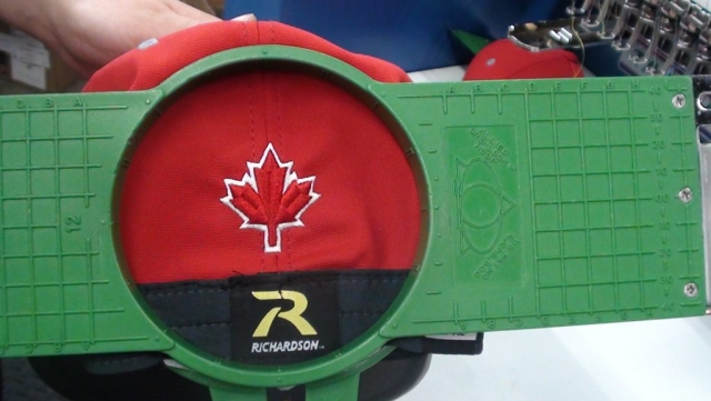 Richardson red mapleleaf hat
