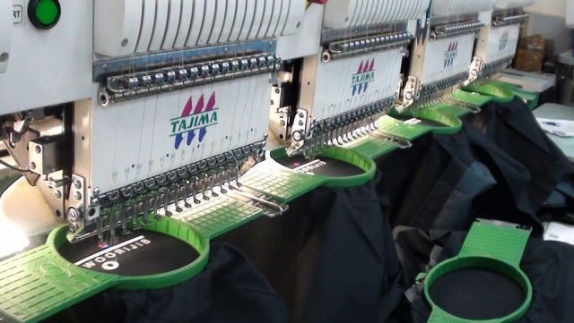 Embroidery production for woorijib